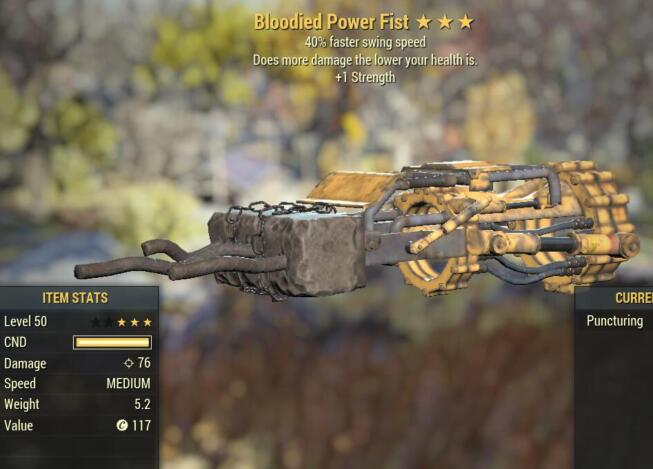 Bloodied Power Fist 3 Stars Level 50 PC 02.jpg
