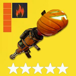 5x PL130 Jack-O-Launcher Fire Max Perks